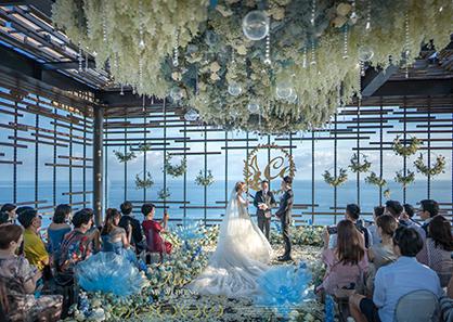 巴厘岛阿丽拉鸟巢婚礼