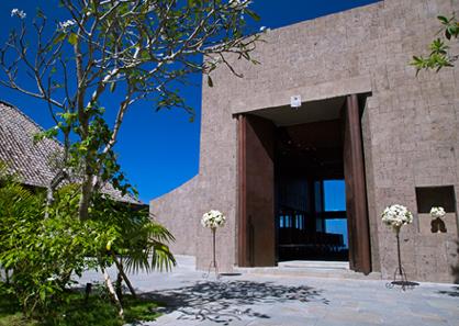巴厘岛宝格丽教堂婚礼