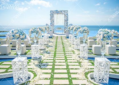 巴厘岛海之梦幻岛婚礼
