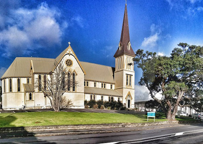 新西兰奥克兰大教堂婚礼