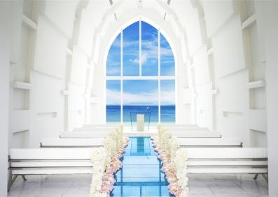 冲绳海之教会婚礼