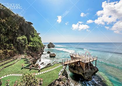 巴厘岛梦幻岩婚礼