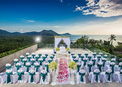 泰国苏梅岛洲际酒店婚礼